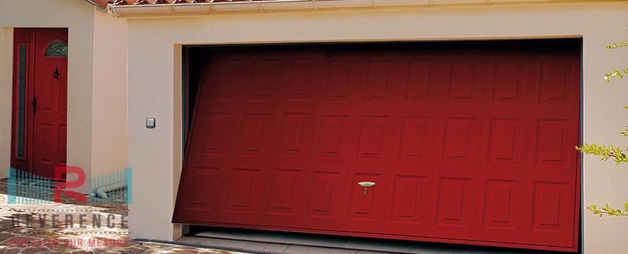 Reverence portails et fermetures aluminium - Portail de garage basculant ...